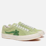 Кеды Converse x Tyler The Creator Golf le Fleur One Star OX Jade Lime/Mint Green фото- 2