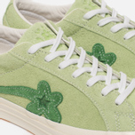 Кеды Converse x Tyler The Creator Golf le Fleur One Star OX Jade Lime/Mint Green фото- 3