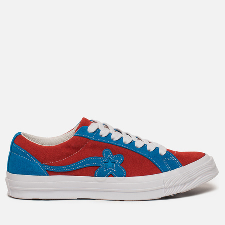 Кеды Converse x Tyler The Creator Golf le Fleur One Star Molten Lava/Diva Blue/White