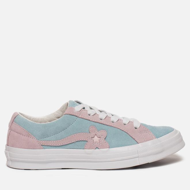 Кеды Converse x Tyler The Creator Golf le Fleur One Star Plume/Pink Marshmellow/White