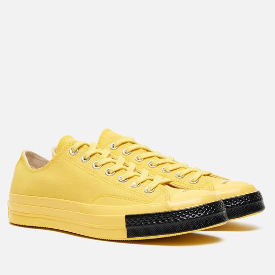 Кеды Converse x Undercover All Star Chuck 70 Low Light Yellow/Buttercup/Black