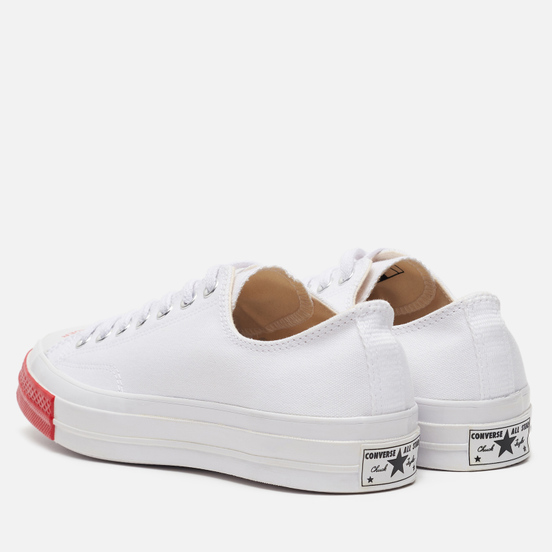 Кеды Converse x Undercover All Star Chuck 70 Low Optical White/Red