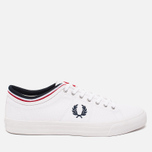 Кеды Fred Perry Kendrick Cuff Canvas White фото- 0