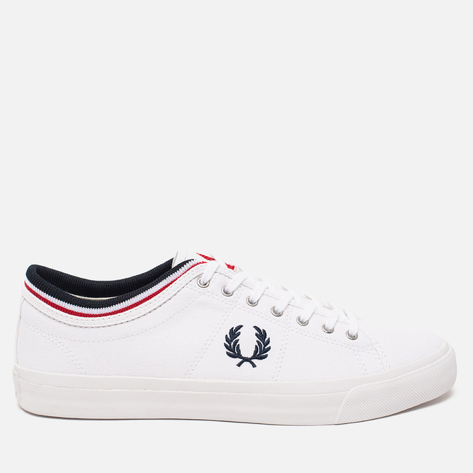 Кеды Fred Perry Kendrick Cuff Canvas White