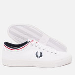 Кеды Fred Perry Kendrick Cuff Canvas White фото- 2