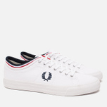 Кеды Fred Perry Kendrick Cuff Canvas White фото- 1