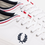 Кеды Fred Perry Kendrick Cuff Canvas White фото- 5