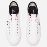 Кеды Fred Perry Kendrick Cuff Canvas White фото- 4