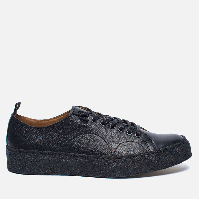 Кеды Fred Perry x George Cox Creeper Scotchgrain Leather Black