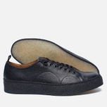 Кеды Fred Perry x George Cox Creeper Scotchgrain Leather Black фото- 2
