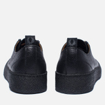 Кеды Fred Perry x George Cox Creeper Scotchgrain Leather Black фото- 3
