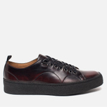 Мужские кеды Fred Perry x George Cox Tennis Leather Ox Blood фото- 0