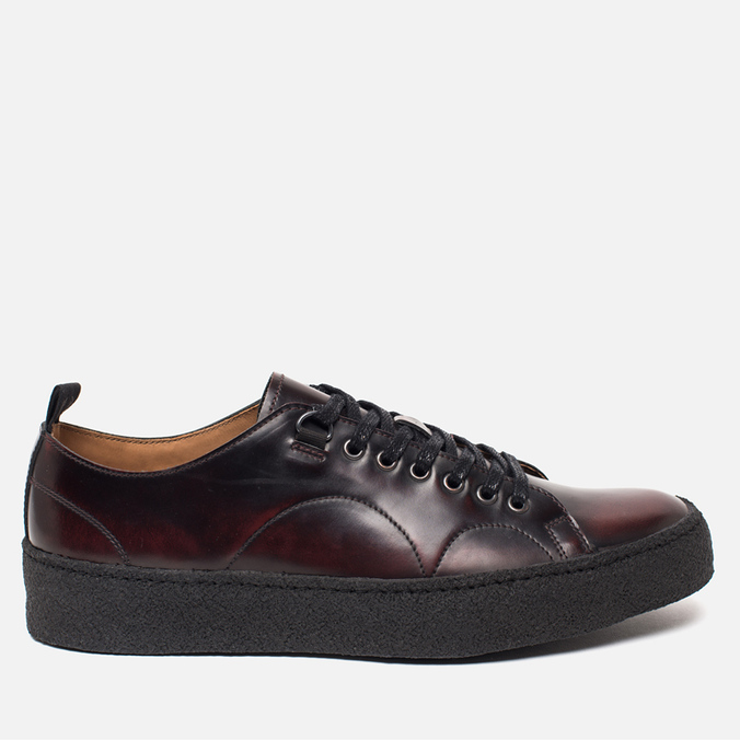 Мужские кеды Fred Perry x George Cox Tennis Leather Ox Blood
