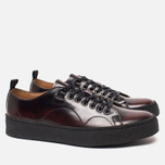 Мужские кеды Fred Perry x George Cox Tennis Leather Ox Blood фото- 1