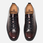 Мужские кеды Fred Perry x George Cox Tennis Leather Ox Blood фото- 4