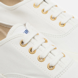 Кеды Maison Kitsune Canvas White фото- 5
