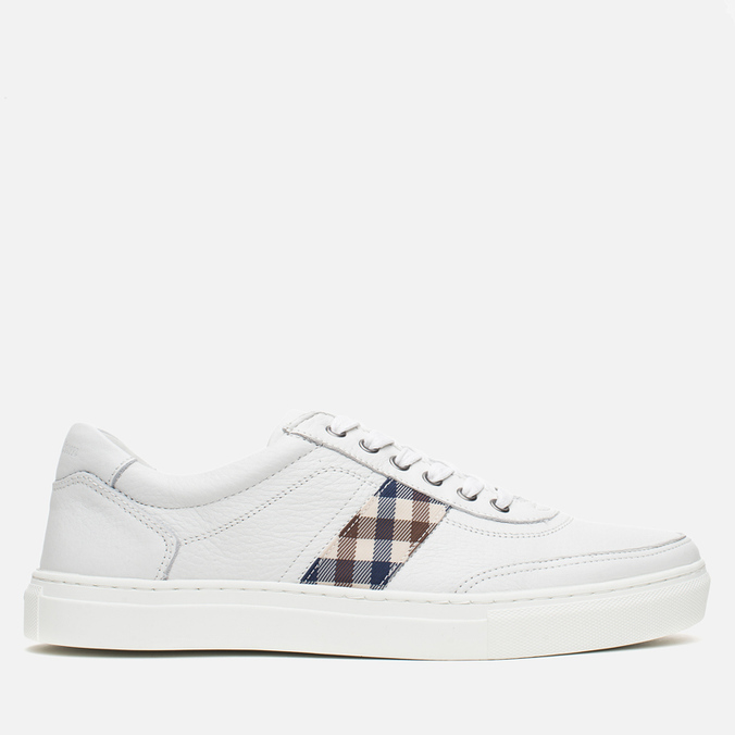 Мужские кеды Aquascutum Bradley Leather White