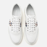 Мужские кеды Aquascutum Bradley Leather White фото- 4