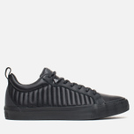 Мужские кеды Converse Fulton Mix Quilted Leather QS Black/Black фото- 0