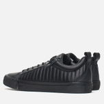 Мужские кеды Converse Fulton Mix Quilted Leather QS Black/Black фото- 2