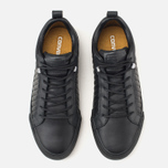 Мужские кеды Converse Fulton Mix Quilted Leather QS Black/Black фото- 4