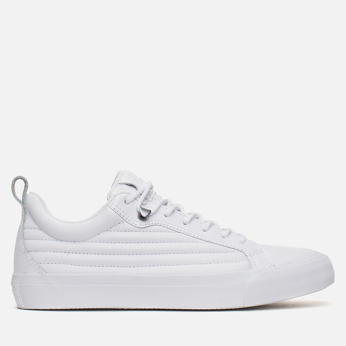 Мужские кеды Converse Fulton Mix Quilted Leather QS White/White