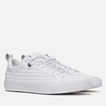 Мужские кеды Converse Fulton Mix Quilted Leather QS White/White фото- 1