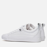 Мужские кеды Converse Fulton Mix Quilted Leather QS White/White фото- 2