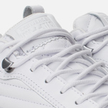 Мужские кеды Converse Fulton Mix Quilted Leather QS White/White фото- 5
