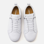 Мужские кеды Converse Fulton Mix Quilted Leather QS White/White фото- 4