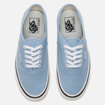 Кеды Vans Authentic 44 DX Anaheim Factory Light Blue фото- 4