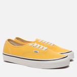 Кеды Vans Authentic 44 DX Anaheim Factory Yellow фото- 1