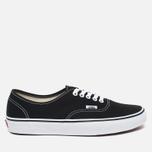 Кеды Vans Authentic Black/White фото- 0