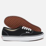 Кеды Vans Authentic Black/White фото- 2