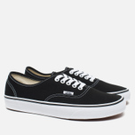 Кеды Vans Authentic Black/White фото- 1