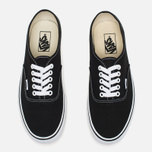 Кеды Vans Authentic Black/White фото- 4