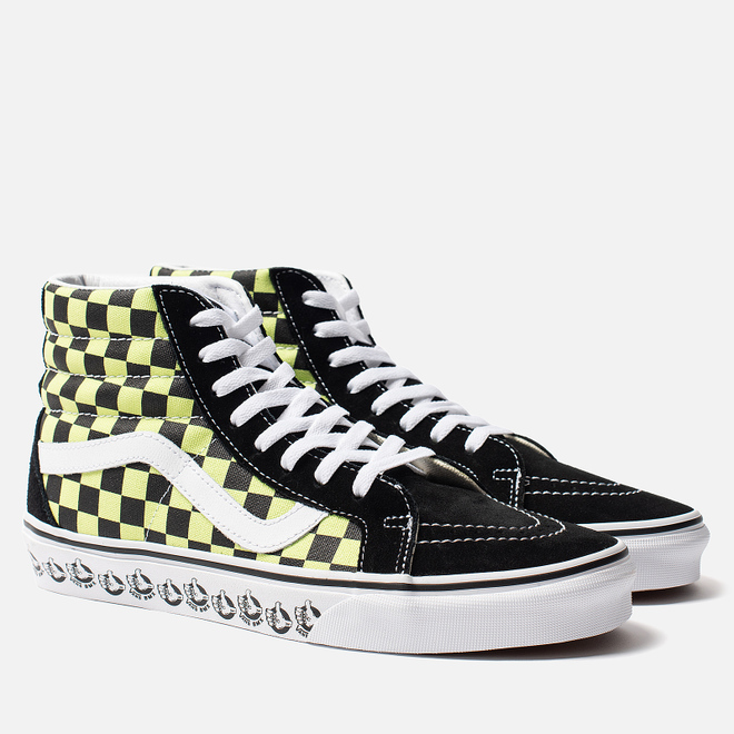 Кеды Vans BMX SK8-Hi Reissue Black/Sharp Green