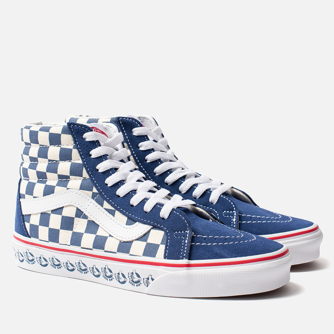 Кеды Vans BMX SK8-Hi Reissue True Navy/White
