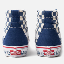 Кеды Vans BMX SK8-Hi Reissue True Navy/White фото- 2