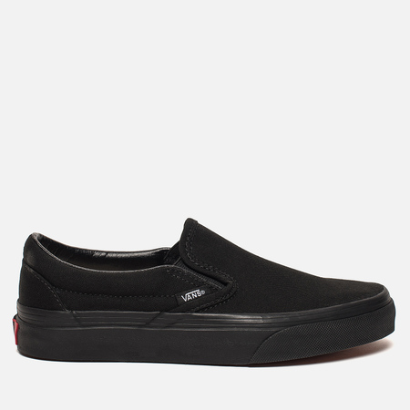 Кеды Vans Classic Slip-On Black/Black