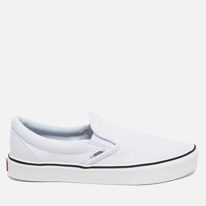 Кеды Vans Classic Slip-On White
