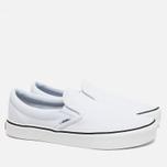 Кеды Vans Classic Slip-On White фото- 1