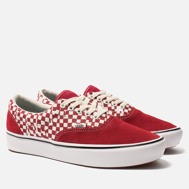 Кеды Vans Comfycush Era Classic Racing Red/True White