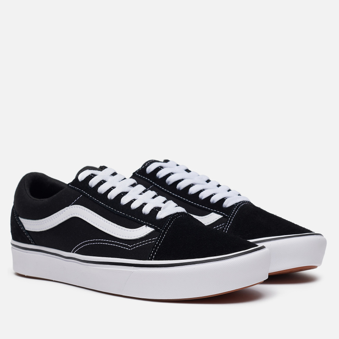 Мужские кеды Vans Comfycush Old Skool Classic Black/White