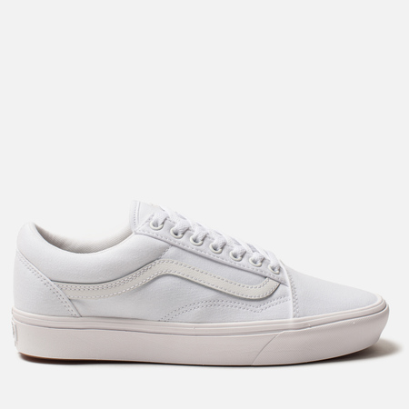 Кеды Vans Comfycush Old Skool Classic True White/True White