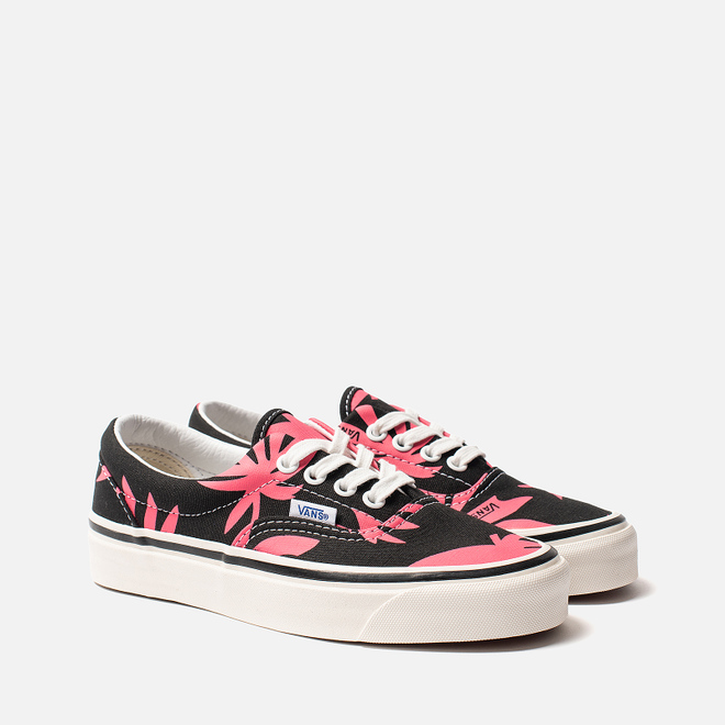 Кеды Vans ERA 95 DX Anaheim Factory Black/Pink/Summer Leaf