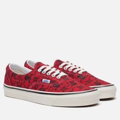 Кеды Vans ERA 95 DX Anaheim Factory Skulls/Red/Black