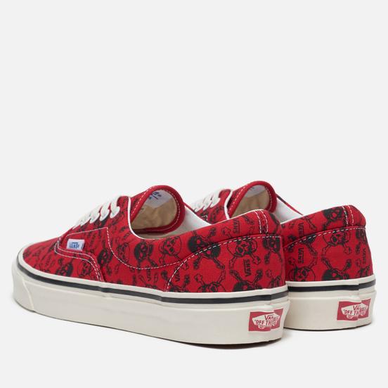 Кеды Vans ERA 95 DX Anaheim Factory Skulls/Red/Black