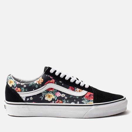 Кеды Vans Garden Floral Old Skool Black/True White