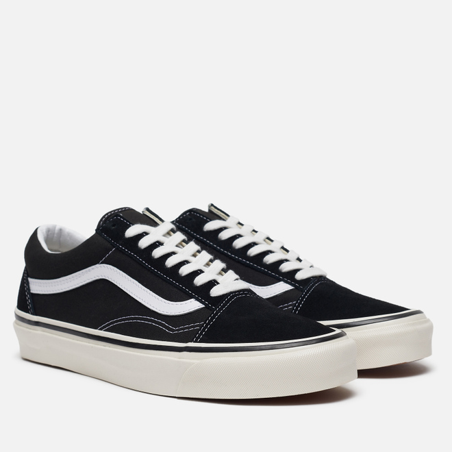 Мужские кеды Vans Old Skool 36 DX Anaheim Factory Black/True White